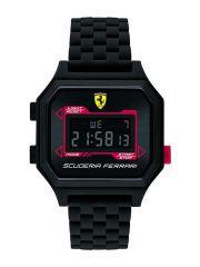 שעון יד דיגיטלי מבית FERRARI עם רצועת סיליקון דגם 830745