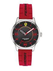 שעון יד לנער FERRARI רצועת סיליקון  אדומה קולקציית PILTANE דגם 860013