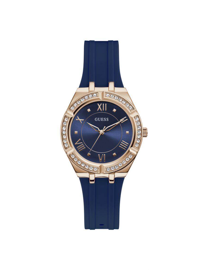 שעון יד GUESS לאישה עם רצועת סיליקון T דגם GW0034L4