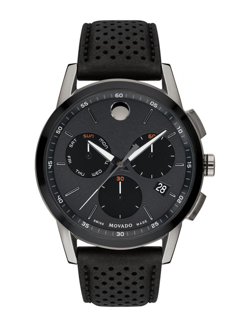 שעון יד MOVADO לגבר קולקציית MUSEUM דגם 0607476