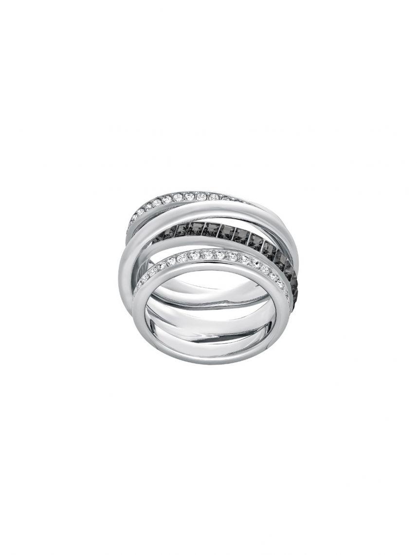 טבעת SWAROVSKI לאישה קולקציית DYNAMIC מידה 58 דגם 5221438