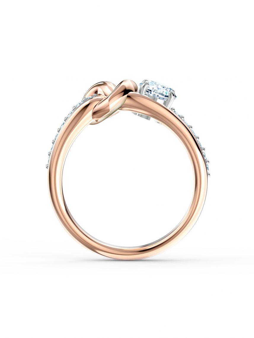 טבעת SWAROVSKI קולקציית LIFELONG HRT מידה 50