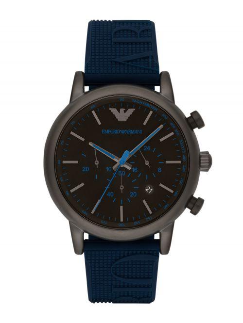 שעון יד Emporio Armani לגבר עם רצועת סיליקון דגם AR11023