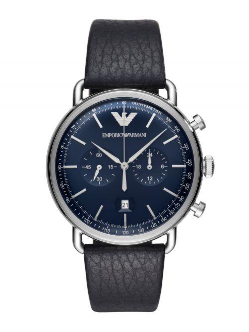 שעון יד EMPORIO ARMANI לגבר קולקציית AVIATOR דגם AR11105