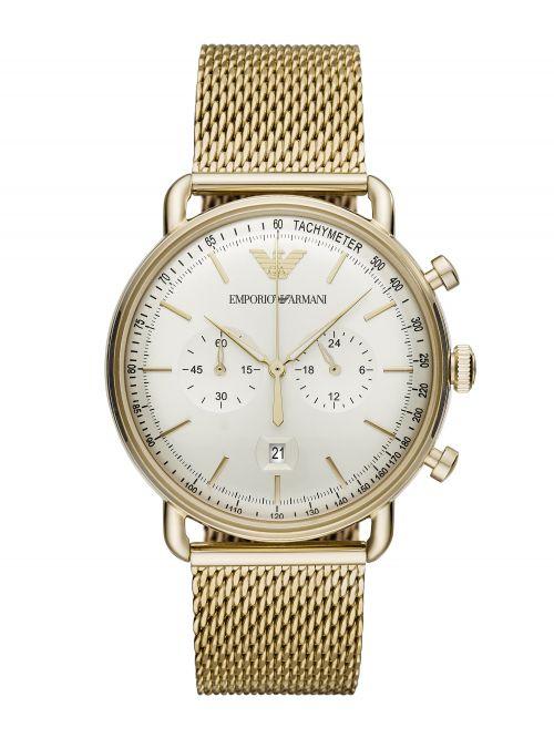 שעון יד EMPORIO ARMANI לגבר עם רצועת מתכת דגם AR11315
