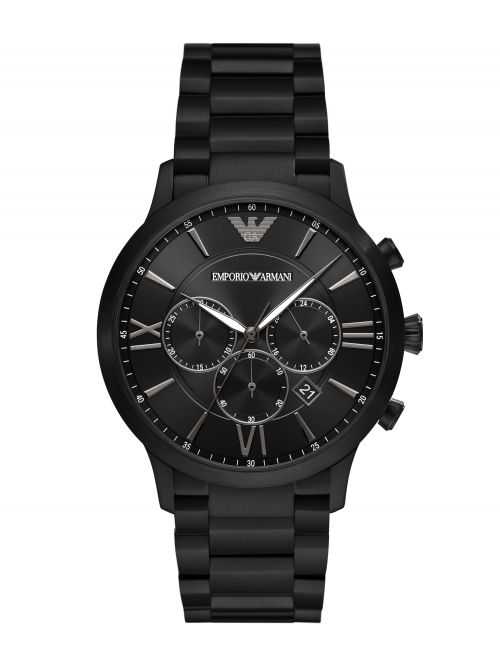 שעון יד לגבר EMPORIO ARMANI בצבע שחור דגם AR11349