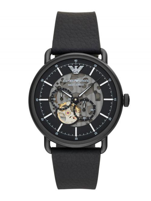שעון יד Emporio Armani לגבר עם רצועת עור דגם AR60028