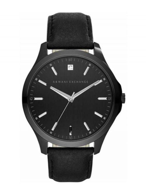 שעון יד ARMANI EXCHANGE לגבר עם רצועת עור דגם AX2171