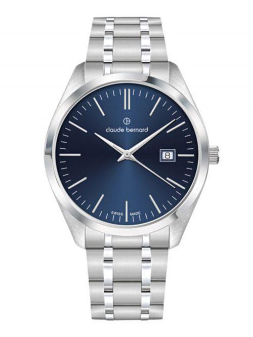 שעון  לגבר CLAUDE BERNARD קולקציית  Classic  דגם 702013MBUIN