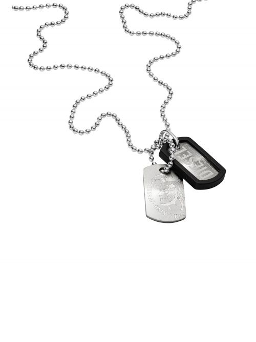 שרשרת DIESEL קולקציית DOUBLE DOGTAGS דגם DX0202040