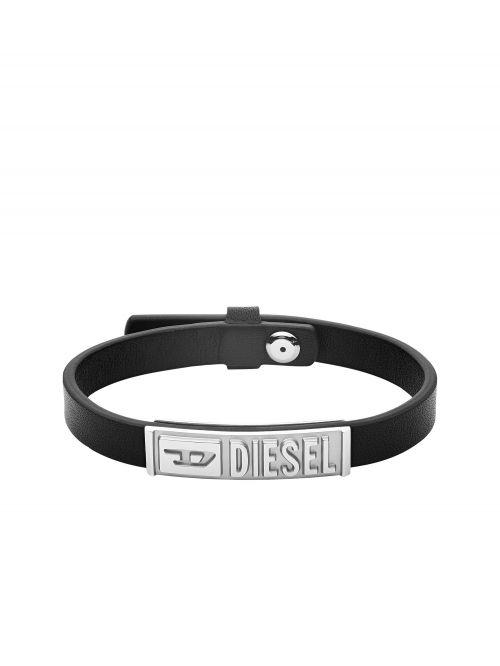 צמיד עור לגבר DIESEL קולקציית STACKABLES דגם DX1226040
