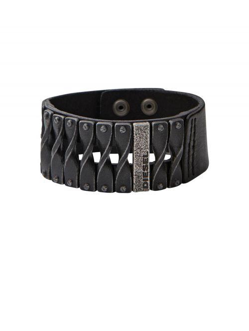 צמיד עור DIESEL לגבר דגם DXM0579040
