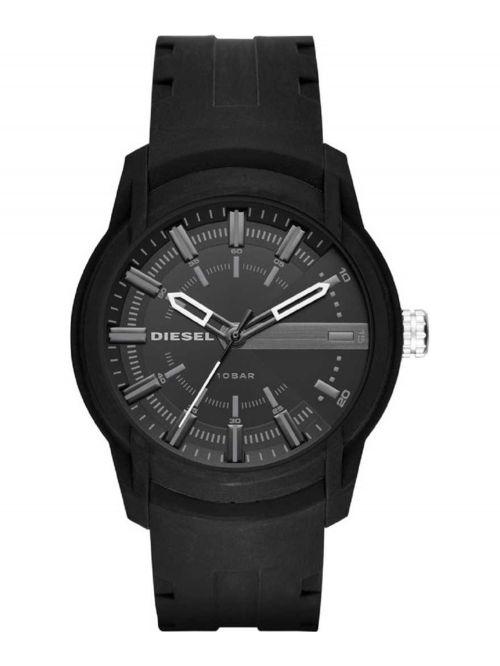 שעון יד DIESEL לגבר עם רצועת סיליקון דגם DZ1830