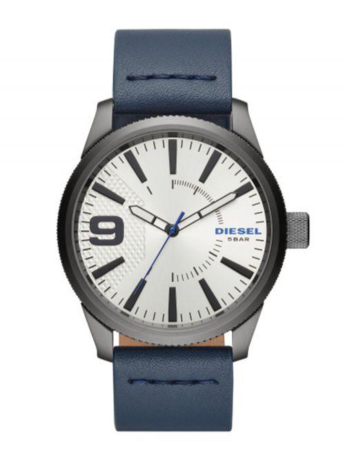 שעון יד DIESEL לגבר עם רצועת עור קולקציית RASP דגם DZ1859