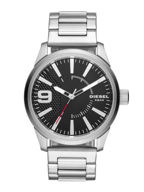 שעון יד DIESEL לגבר עם רצועת מתכת קולקציית RASP דגם DZ1889