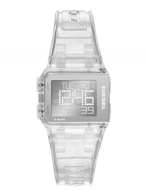 שעון יד DIESEL לנשים עם רצועת סיליקון קולקציית  דגם DZ1917