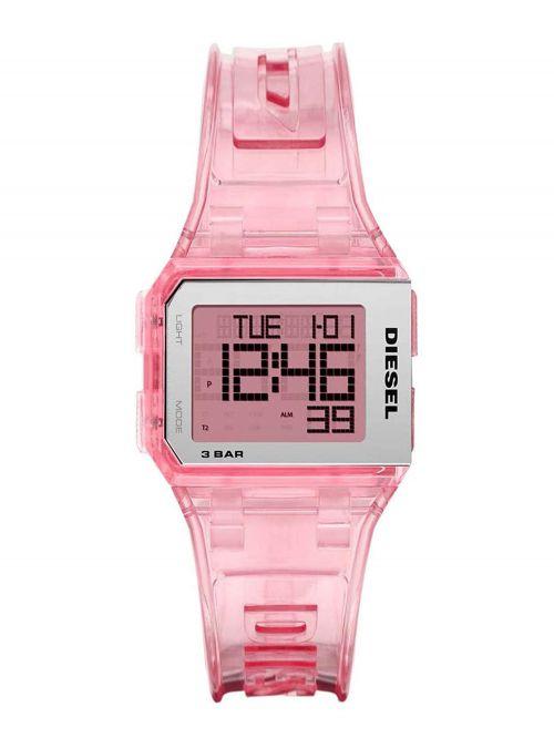 שעון יד DIESEL לנשים עם רצועת סיליקון קולקציית  דגם DZ1920