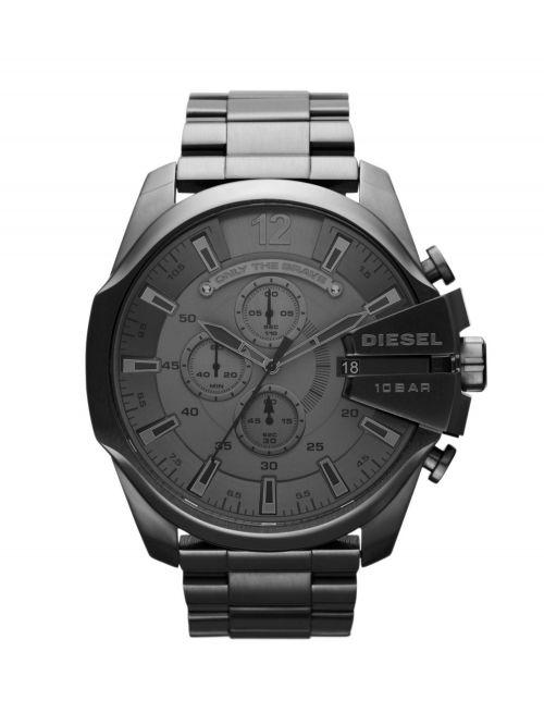 שעון יד DIESEL כרונוגרף לגבר קולקציית MEGA CHIEF דגם DZ4282