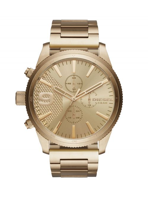 שעון יד DIESEL לגבר עם רצועת מתכת קולקציית RASP דגם DZ4446