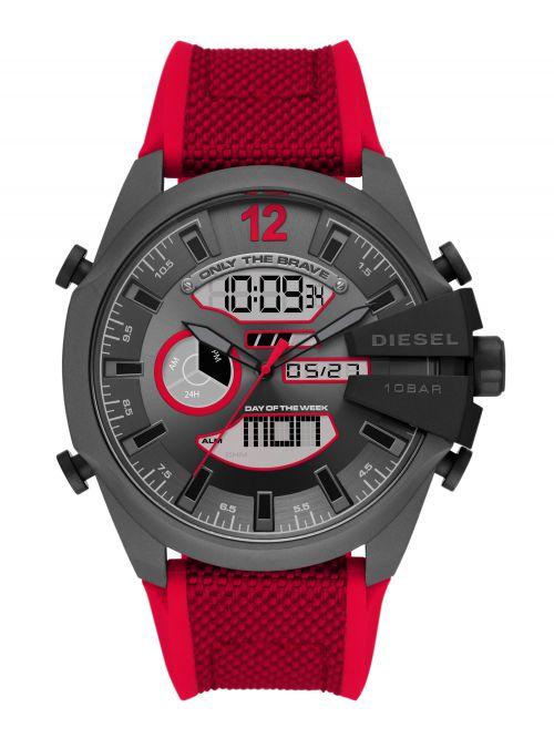 שעון יד DIESEL לגבר עם רצועת בד  דגם DZ4551