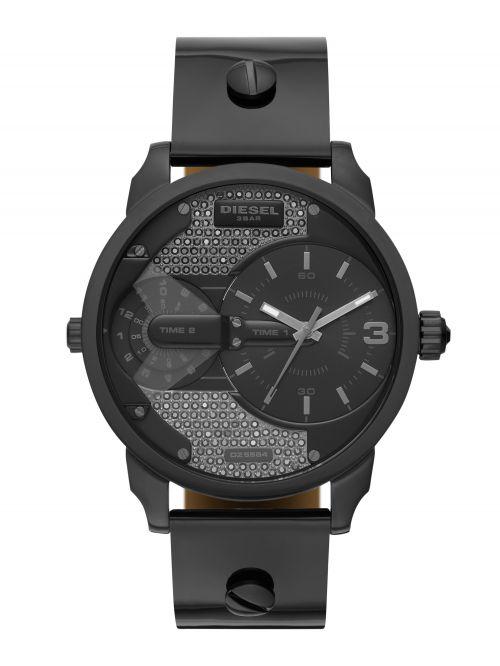 שעון יד DIESEL לגבר עם רצועת עור קולקציית MINI DADDY דגם DZ5584