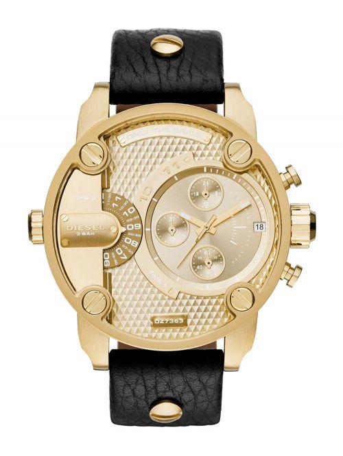 שעון DIESEL לגבר עם רצועת עור קולקציית DADDIES דגם DZ7363