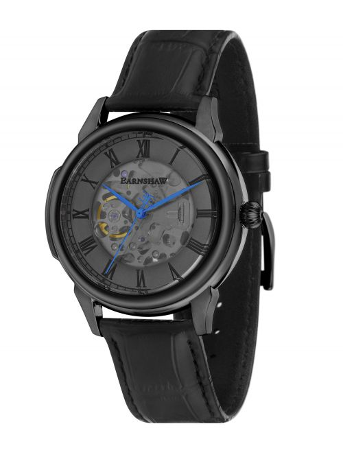 שעון יד EARNSHAW לגבר עם רצועת עור דגם 8805-02