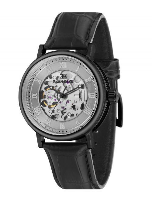 שעון יד EARNSHAW לגבר עם רצועת עור דגם 8806-04