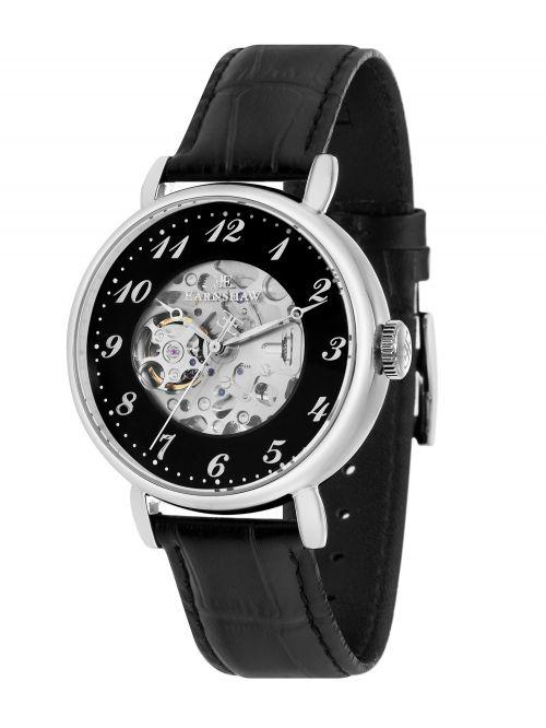 שעון יד EARNSHAW לגבר עם רצועת עור דגם 8810-01