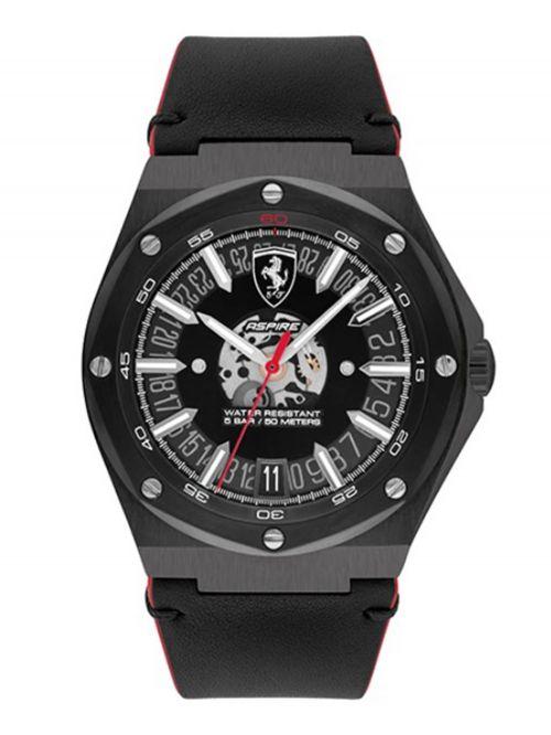שעון יד לגבר מבית FERRARI עם רצועת סיליקון  דגם 0830845
