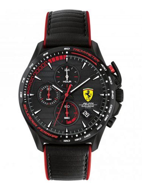 שעון יד לגבר מבית FERRARI עם רצועת סיליקון  דגם 0830849