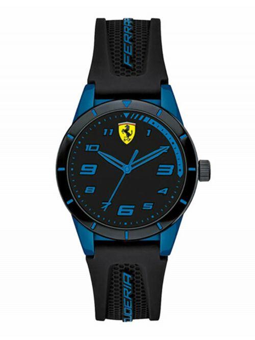 שעון יד לנער FERRARI רצועת סיליקון   דגם 0860007