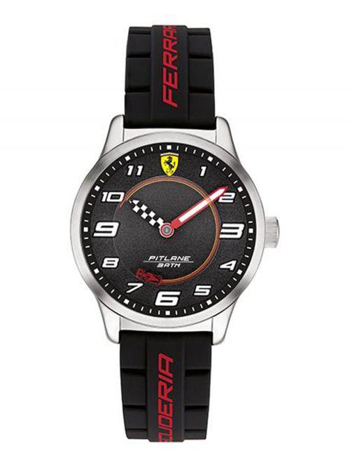 שעון יד לנער FERRARI רצועת סיליקון  דגם 0860012