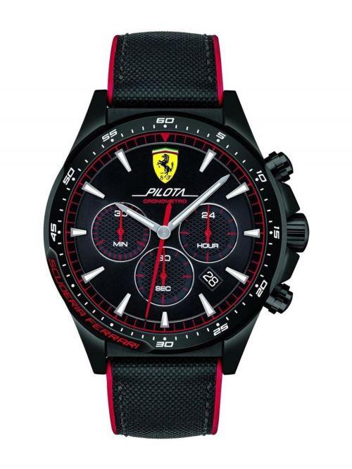 שעון יד גברים מבית FERRARI עם רצועת סיליקון דגם 830623