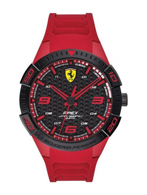 שעון יד גברים מבית FERRARI עם רצועת סיליקון דגם 830664