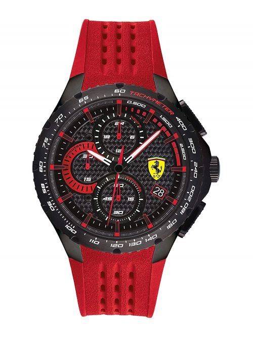 שעון יד גברים מבית FERRARI עם רצועת סיליקון דגם 830727