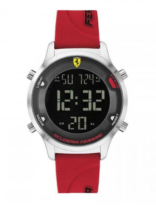 שעון FERRARI לגבר QUARTZ רצועת סיליקון FR-830757
