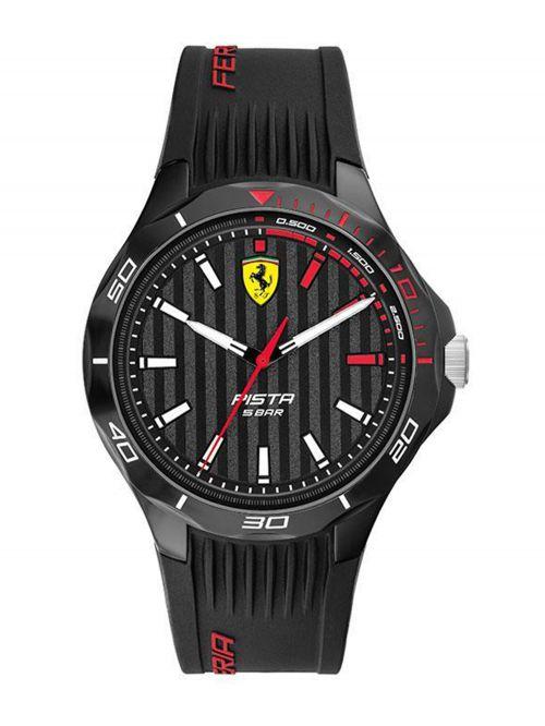 שעון יד גברים מבית FERRARI עם רצועת סיליקון דגם 830780