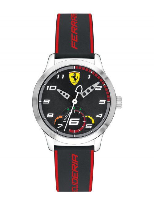 שעון יד FERRARI לילדים עם רצועת סיליקון דגם 0860003