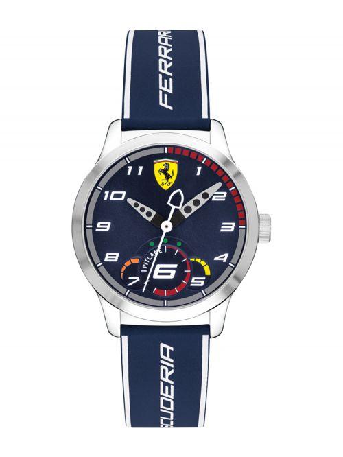 שעון יד ילדים FERRARI רצועת סיליקון כחולה דגם 860005