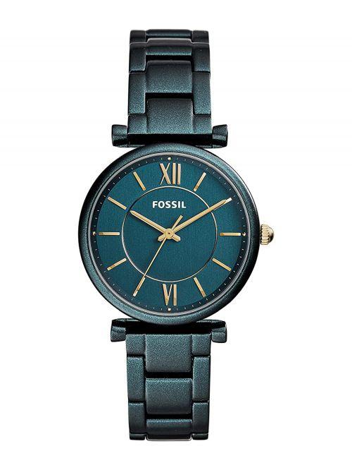 שעון יד FOSSIL לאישה קולקציית CARLIE עם רצועת מתכת דגם ES4427