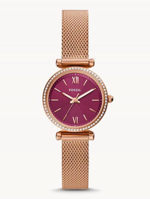 שעון לאישה  FOSSIL קולקציית  CARLIE MINIE דגם ES5011