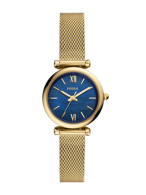 שעון יד נשים FOSSIL בצבע צהב דגם ES5020