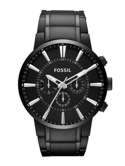 שעון יד FOSSIL לגבר עם רצועת מתכת דגם FS4778