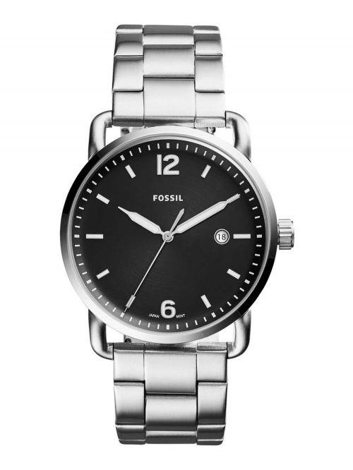 שעון יד FOSSIL לגבר עם רצועת מתכת דגם FS5391