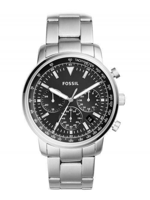 שעון יד FOSSIL לגבר עם רצועת מתכת דגם FS5412