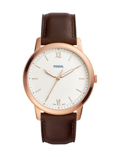 שעון יד FOSSIL לגבר קולקציית THE MINIMALIST דגם FS5463