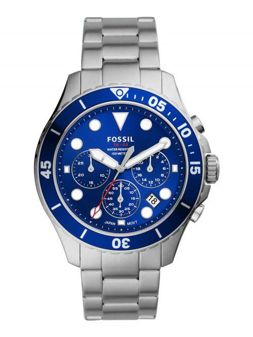 שעון יד FOSSIL לגבר עם רצועת מתכת דגם FS5724