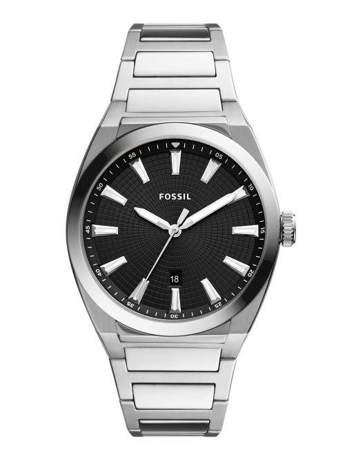 שעון יד FOSSIL לגבר עם רצועת מתכת דגם FS5821