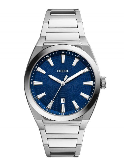 שעון יד FOSSIL לגבר עם רצועת מתכת דגם FS5822